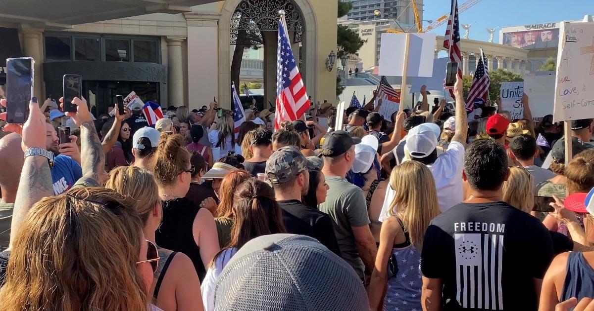 Vegas Mandate Protest