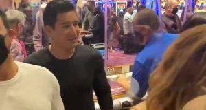 Mario Lopez at Virgin
