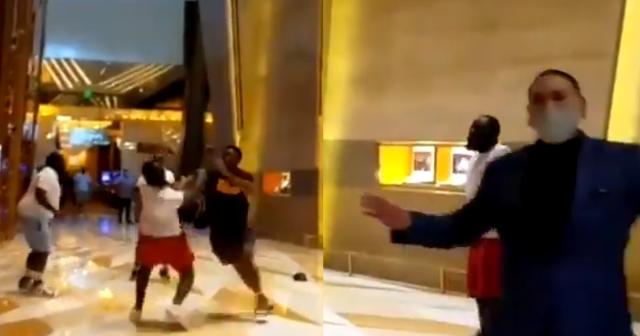 MGM Aria Fight