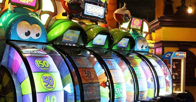 The Big Apple Arcade inside the NYNY Hotel & Casino