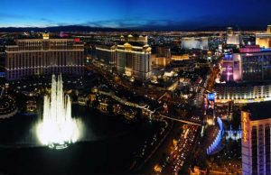 Photo of the Strip from a Helicopter