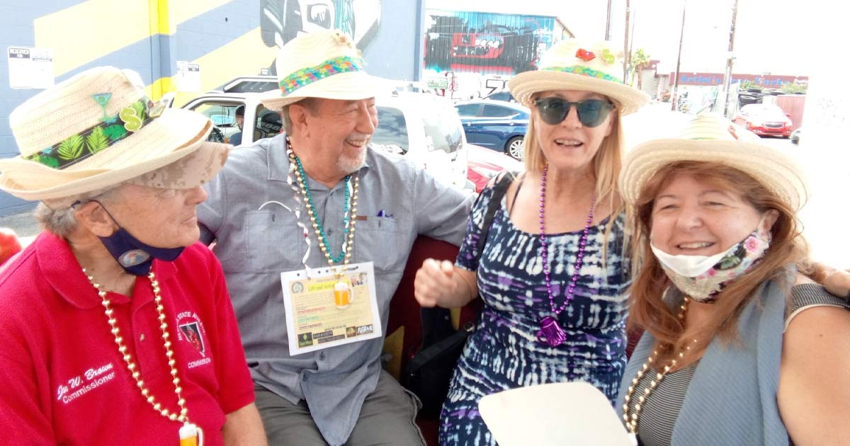 Tick Segerblom Politician Clark County Commissioner No Mask Party
