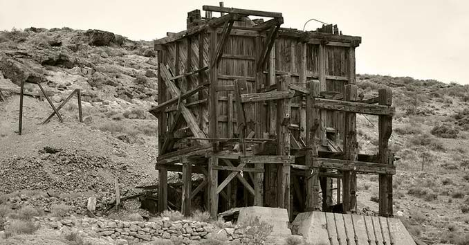 Pioneer Ghost Town in Nevada