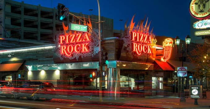 Pizza Rock Downtown Vegas