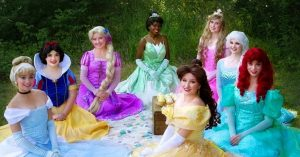 princess party ball