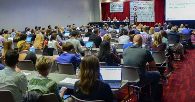 Pubcon Marketing Conference in Las Vegas
