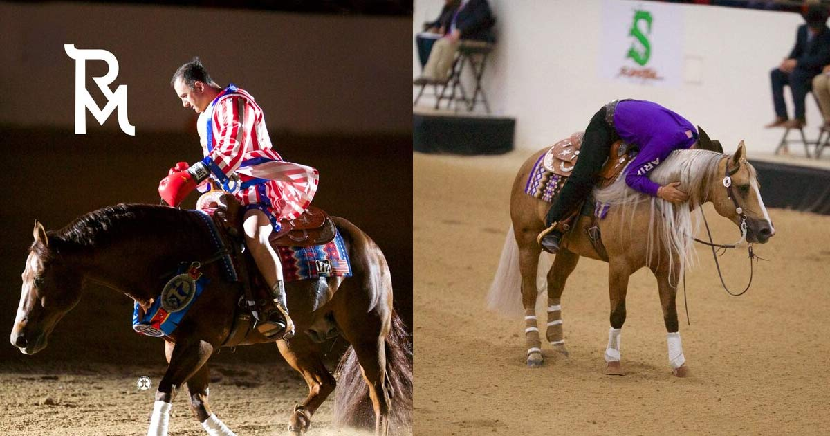 The Run For A Million Reining Horse Event