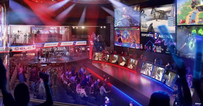 Esports Arena Las Vegas at Luxor Hotel and Casino