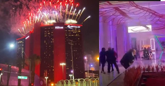 Resorts World Opening Night Fights