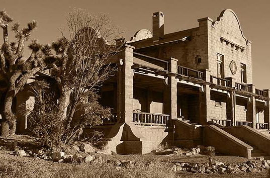 Rhyolite, Nevada Ghost Town