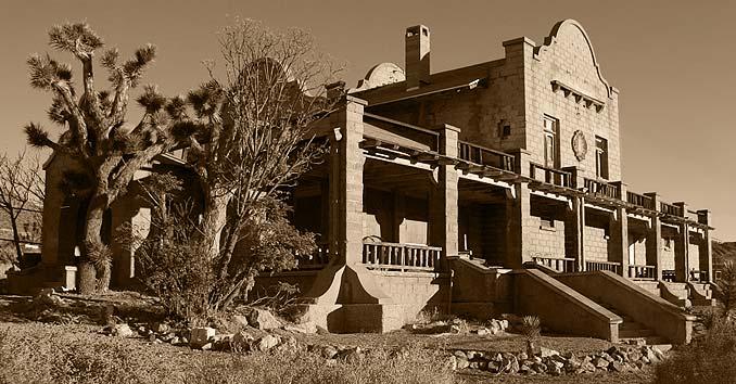 Rhyolite, Nevada Ghost Town