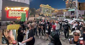 Review Journal BLM protestors