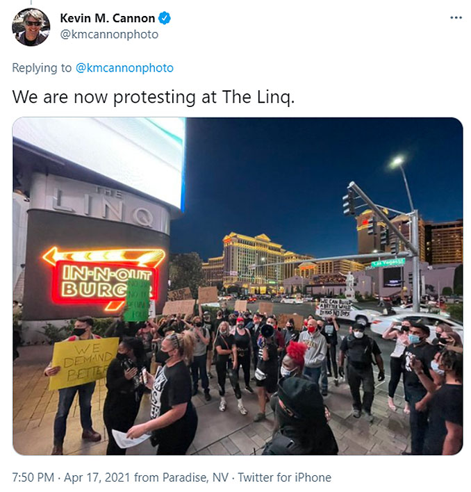Las Vegas Review Journal Reporter Kevin M. Cannon admits he is helping BLM