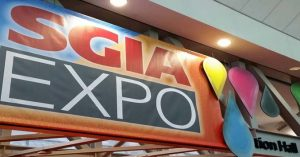 SGIA Expo in Las Vegas
