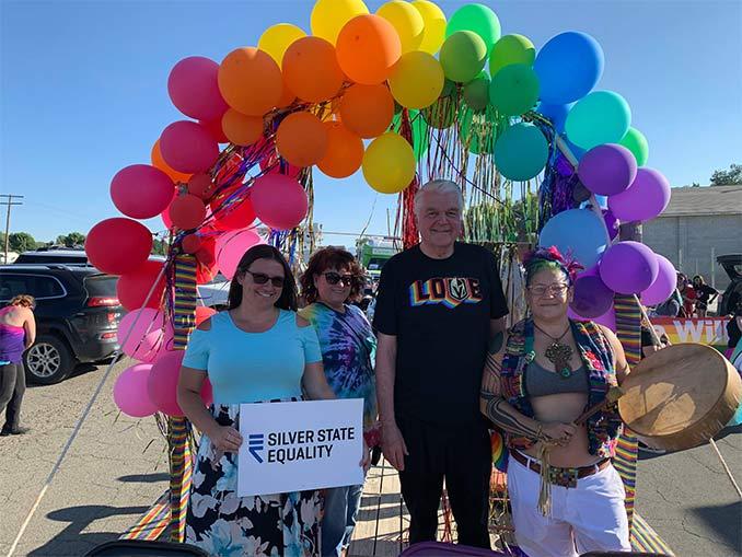 Sisolak mask-free at Gay Pride Parade
