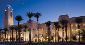 Smith Center for the Performing Arts in downtown Las Vegas
