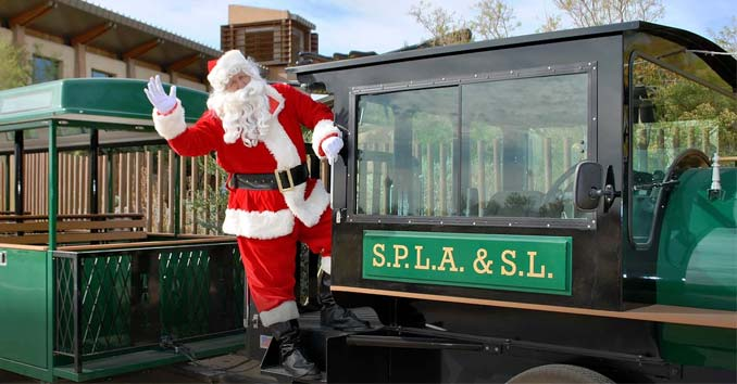 Santa at the Springs Preserve