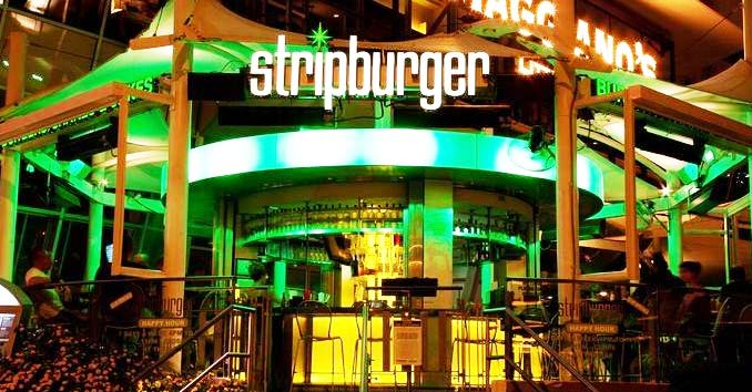 Strip Burger at Fashion Show Mall
