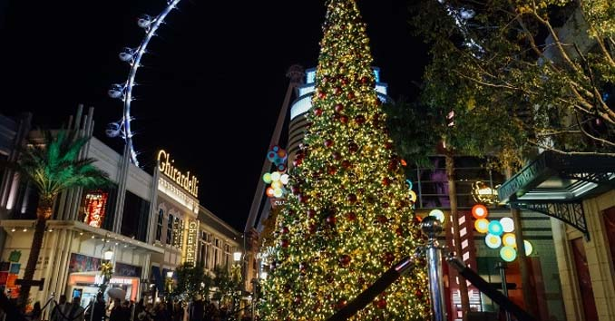 Las Vegas Christmas 2017 Christmas Lights Shows Events In Vegas