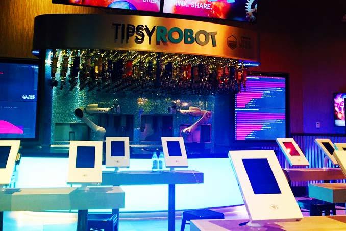 Tipsy Robot in Las Vegas