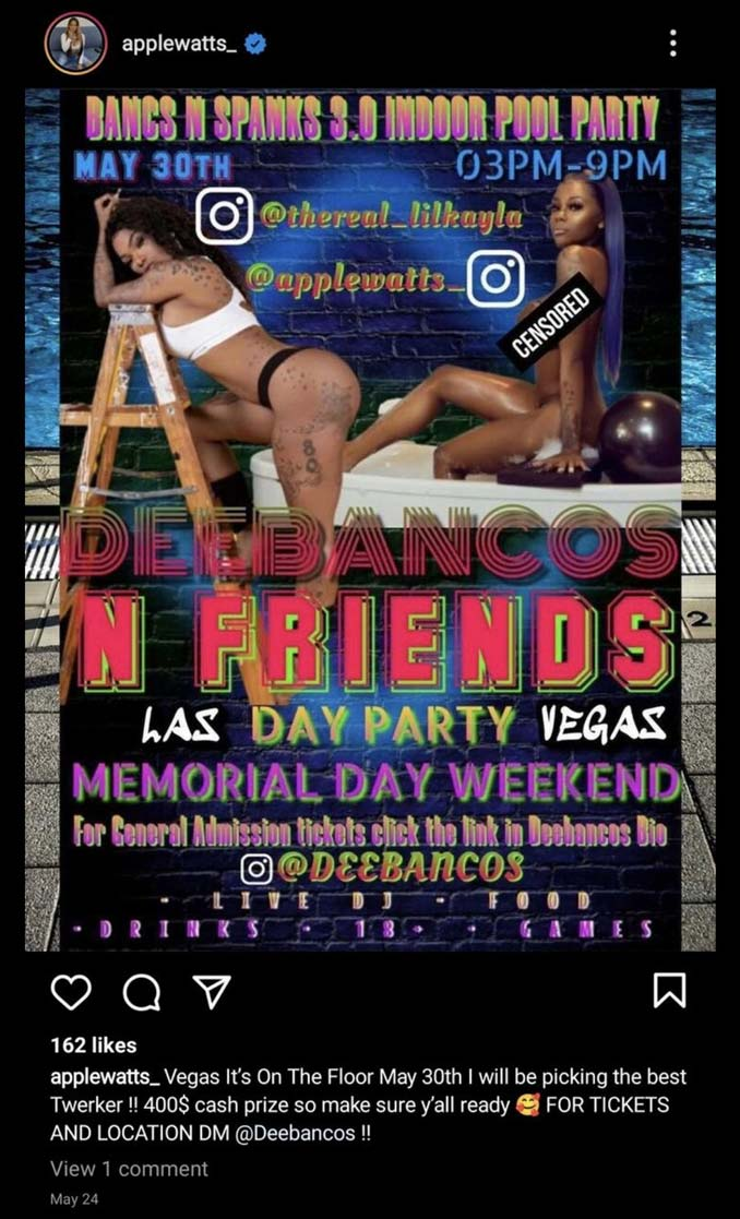 Illegal Party at Palo Verde/Pavilion Pool in Summerlin Las Vegas