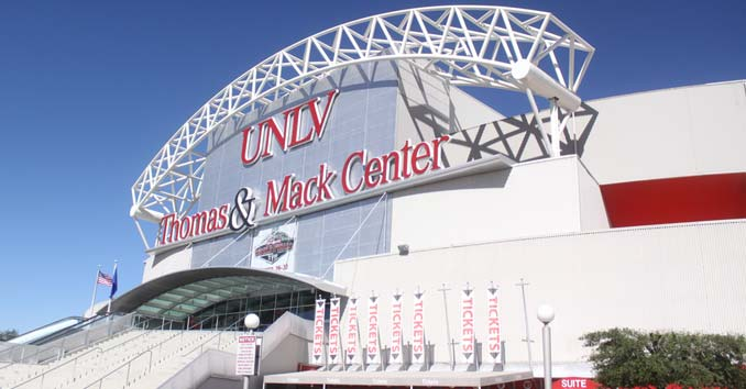 The UNLV Thomas & Mack Center