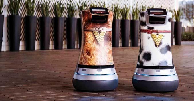 Vdara Las Vegas Robots