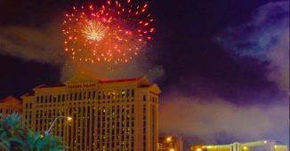 Las Vegas Fireworks Show