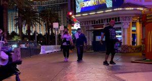 Homeless on Strip
