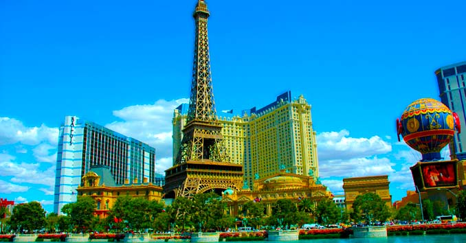 Romantic Spots on the Las Vegas Strip