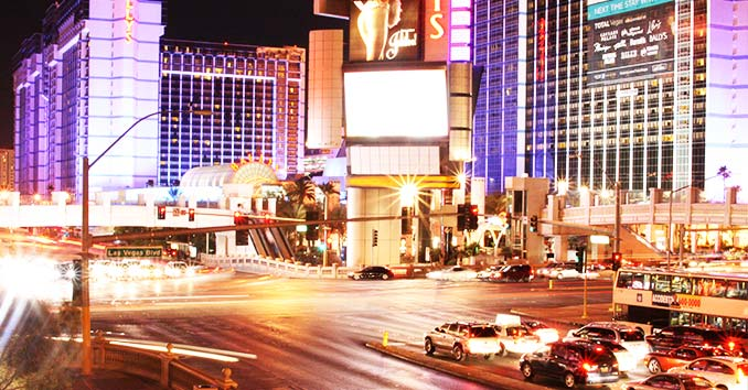 Las Vegas Strip Traffic