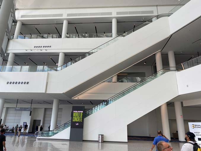 Las Vegas Convention Center Expansion Opens with World of Concrete